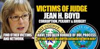 CVvictim of Judge Jean H Boyd