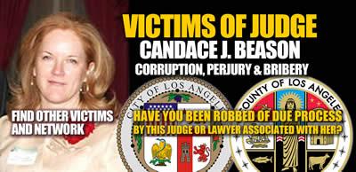 Los Angeles California Judge Candace J Beason