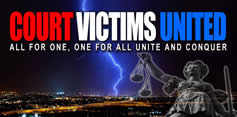 Facebook group Court Victims United
