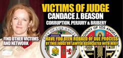 Facebook group Victims of Corrupt Judge Candace J Beason