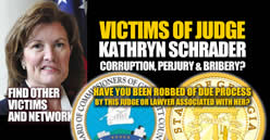 Facebook group Victims of Corrupt Judge Kathryn Schrader