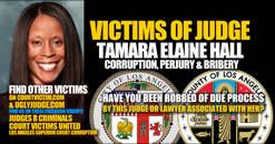 Facebook group Victims of Los Angeles Calfornia Corrupt Judge Tamara Elaine Hall
