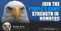 Like Facebook Join the Peoples Army to bring back justice