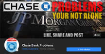 Like Facebook Page Chase Bank Problems