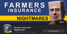 Like Facebook Page Farmers Insurance and Nightmare Stories