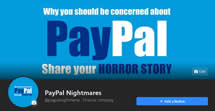 Like Facebook Page Pay Pal Nightmares and Horror Stories