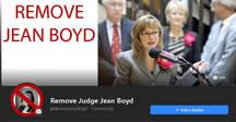 Like Facebook Texas remove corrupt Judge Jean Boyd