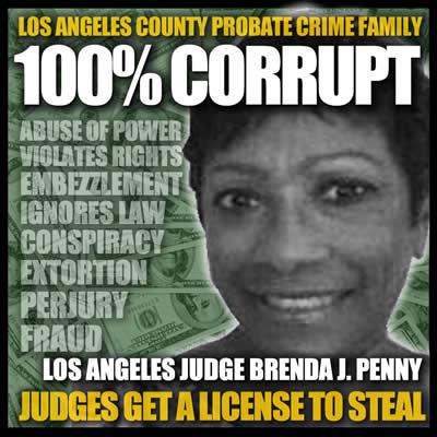 Los Angeles County California Superior Court Judge Brenda J Penny is a criminal400