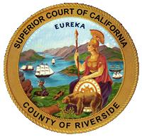Riverside County California seal