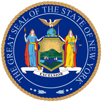 Seal of New York state seal