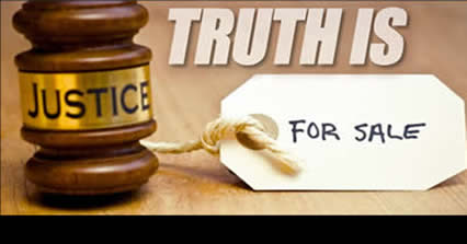 Truth is our judges are bribed, unethical and dishonorable