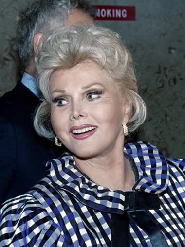 zsa zsa gabor conserved