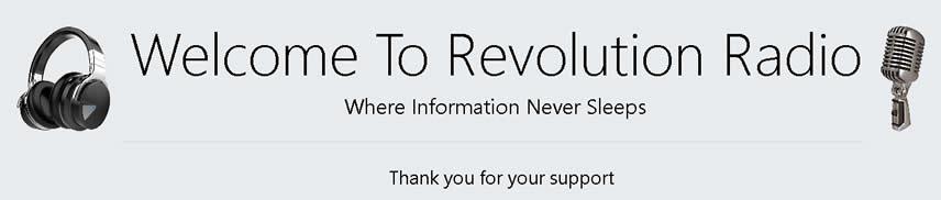 internet radio Revolution radio