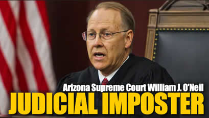 Arizona State Supreme Court William J Oneil
