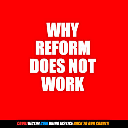 CV why reform does not work