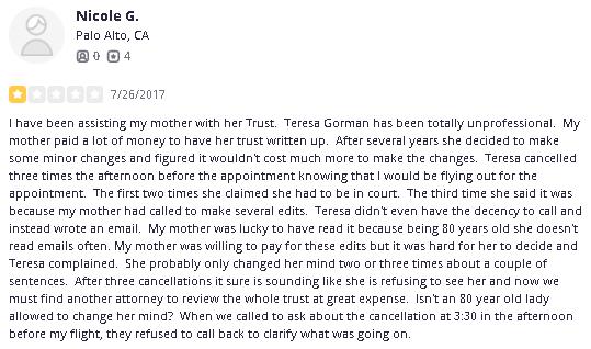 Lawyer Teresa Gorman Orange County Lawyer Probate fraud3.