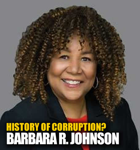 Corrupt Los Angeles Supeior Court Judge NOT Honorable Barbara Rose Johnson
