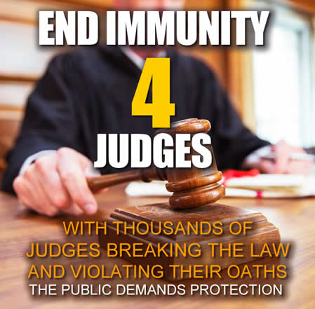 end immunity for judges now