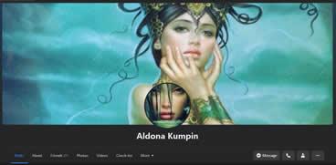 Aldona Kumpin on Facebook