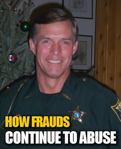 chuck-quackenbush a fraud from california moved to florida to continue his abuse an lies