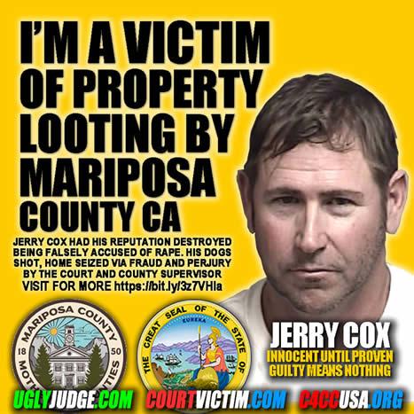 Mariposa County Corruption Jerry Cox