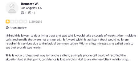 lawyer attorney Esquibias David A Westlake Village CA 3